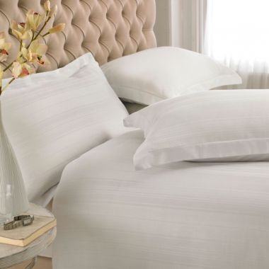 200TC Egyptian Cotton Variable Stripe Duvet Cover Set