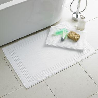 Alford Cotton Bath Mat - White