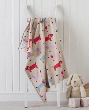 Dog Baby Blanket