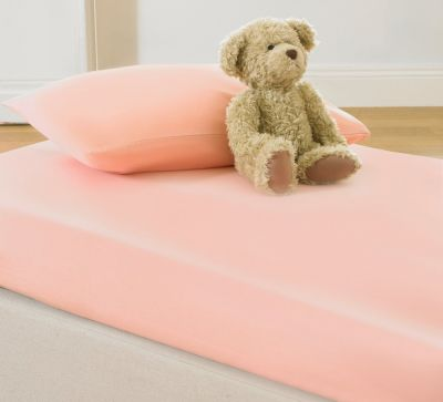 Cotton Jersey Fitted Sheet Set for Kids