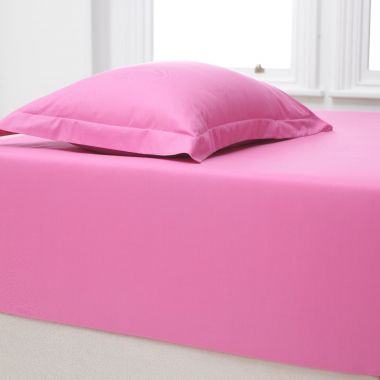 180TC Poly Cotton Extra Deep Fitted Sheet