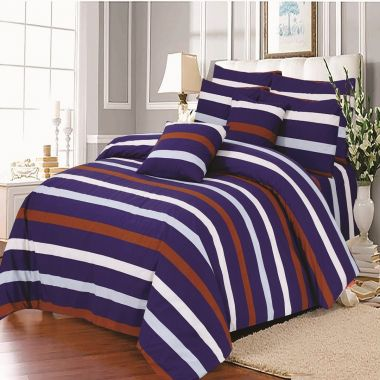 Hampton Stripe Duvet Cover Set