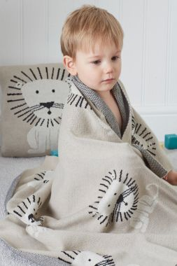 Lion Baby cushion cover