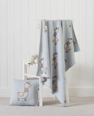 Llama Baby Blanket