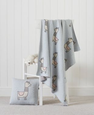 Llama Baby cushion cover