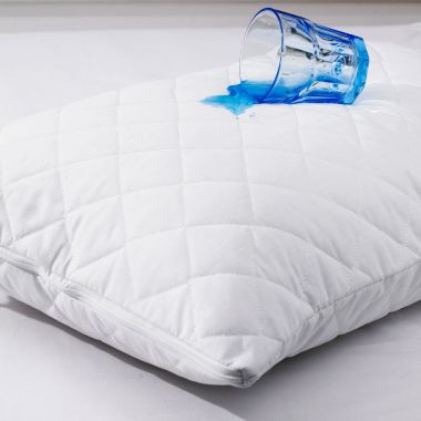 Derby Luxury Quilted Pillow Protector Pair