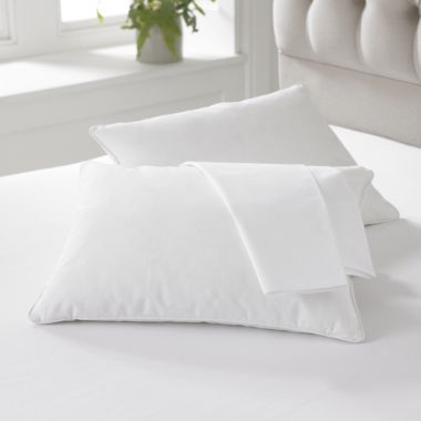 Chard Goose feather & down travel pillow