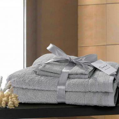 Rosetta Egyptian Cotton Towels 4 Pieces Bundle Pack
