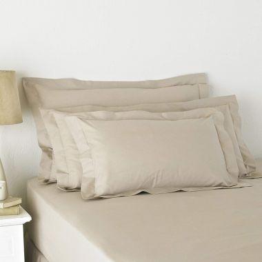 180TC Oxford Edge Pillowcase Pair