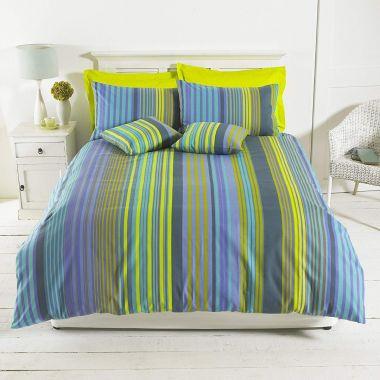Oxford Stripe Duvet Cover Set