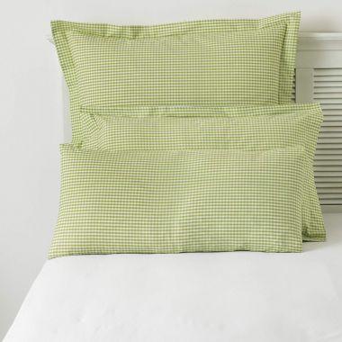 Gingham Check Pillowcase Pair
