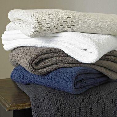Cotton Chester Cellular Blanket