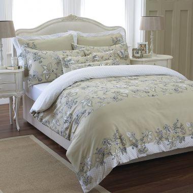 Egyptian Cotton Amaryllis Pillowcase Pair