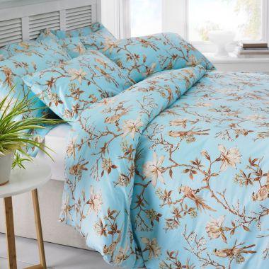 Egyptian Cotton Bird Duvet Cover Set