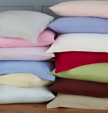 180TC Housewife Style Pillowcase Pair