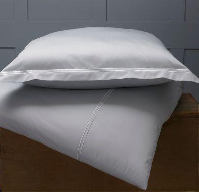 400TC Egyptian Cotton 2 Row Cord Duvet Cover Set