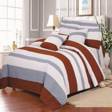 Hadley Stripe Duvet Cover Set