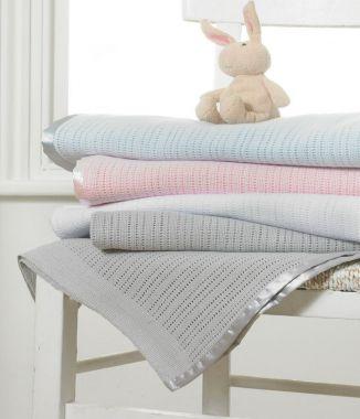 Cotton Cellular Blanket for kids