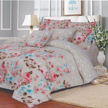 Lansfield Floral Duvet Cover Set