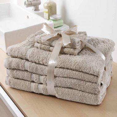 Rosetta Egyptian Cotton Towels 6 Pieces Bundle Pack