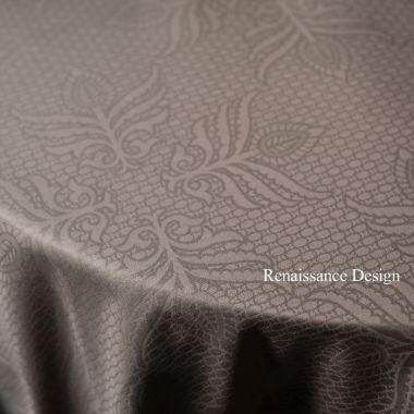 DAMASK RENAISSANCE 100% COTTON TABLE COVERS