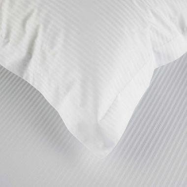 500TC Egyptian Cotton Sateen Stripe Pillowcase Pair