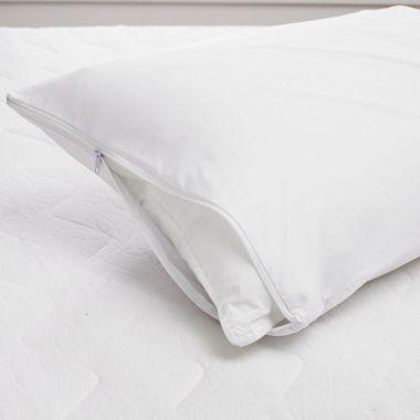 Bristol Luxury Zipper Pillow Protector Pair